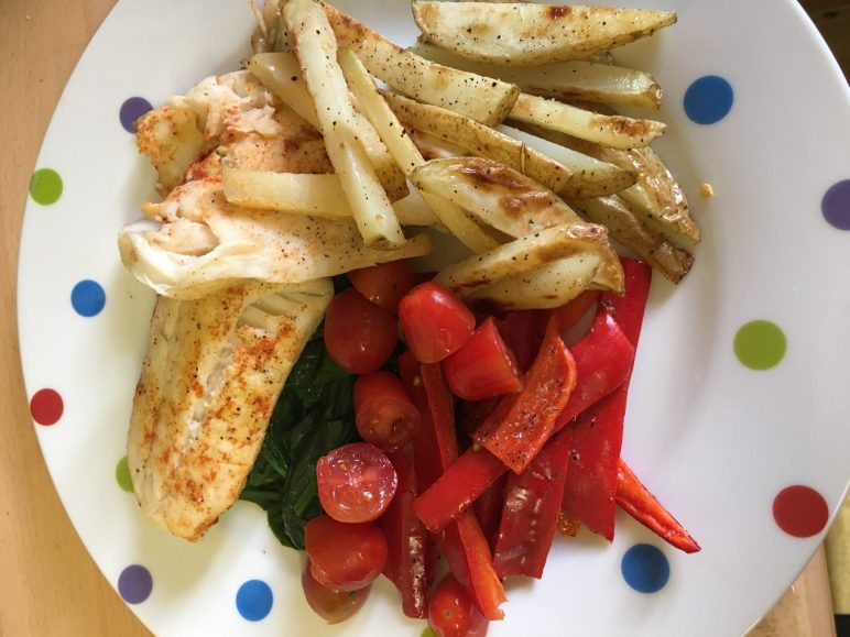Slimming World Cod and Chips