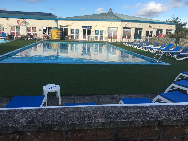 Mullion Holiday Park Outside Swimming Pool