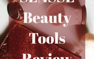 SENSSE Cleansing Brush Review, SENSSE Hot and Cold Facial Bar Review