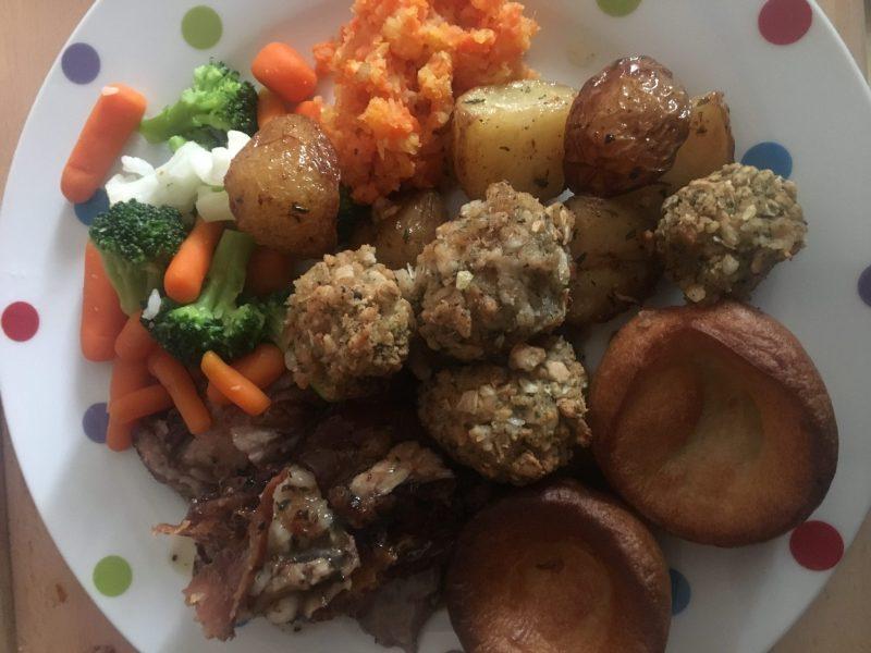 Healthy Red Meat Challenge Roast Lamb Dinner