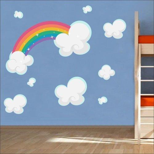 rainbow wall stickers