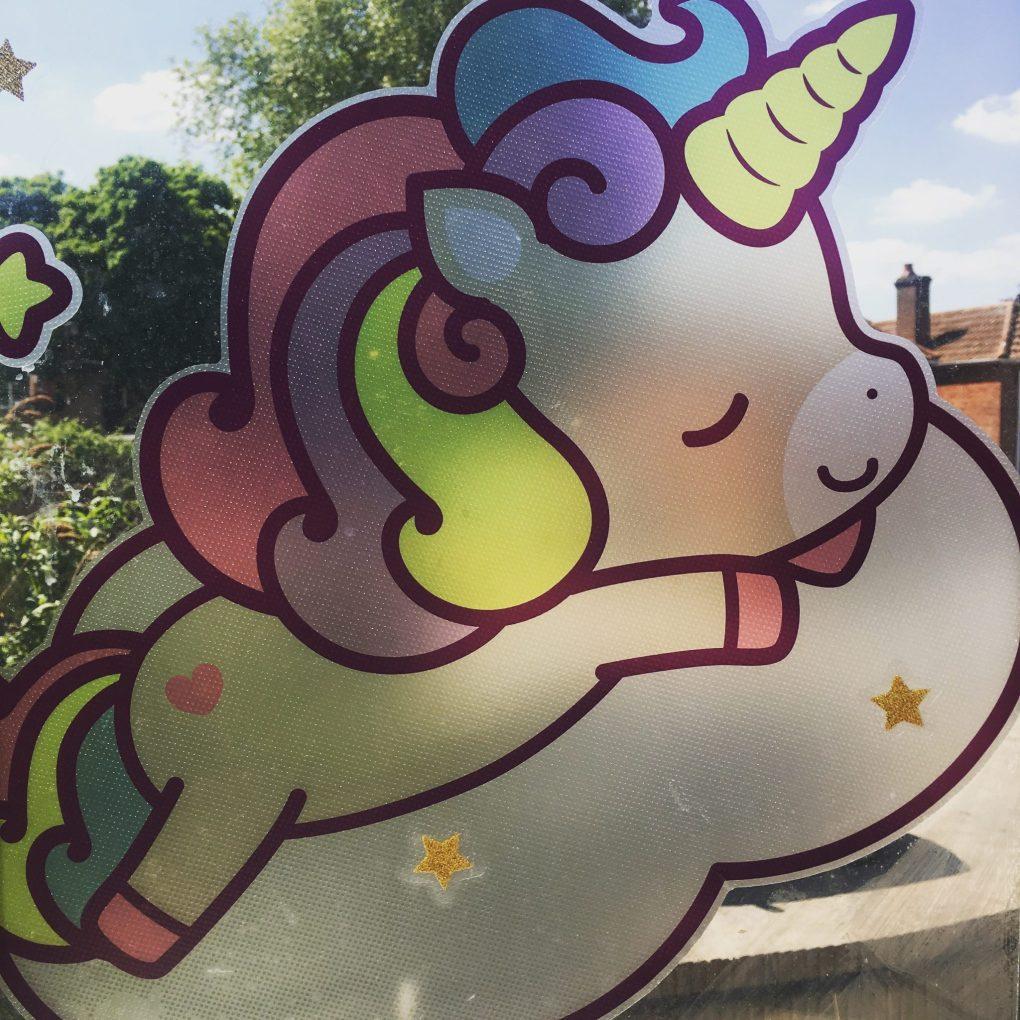 Unicorn Window Sticker
