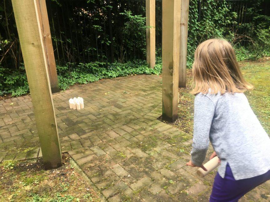 Molkky Outdoor Wooden Skittles