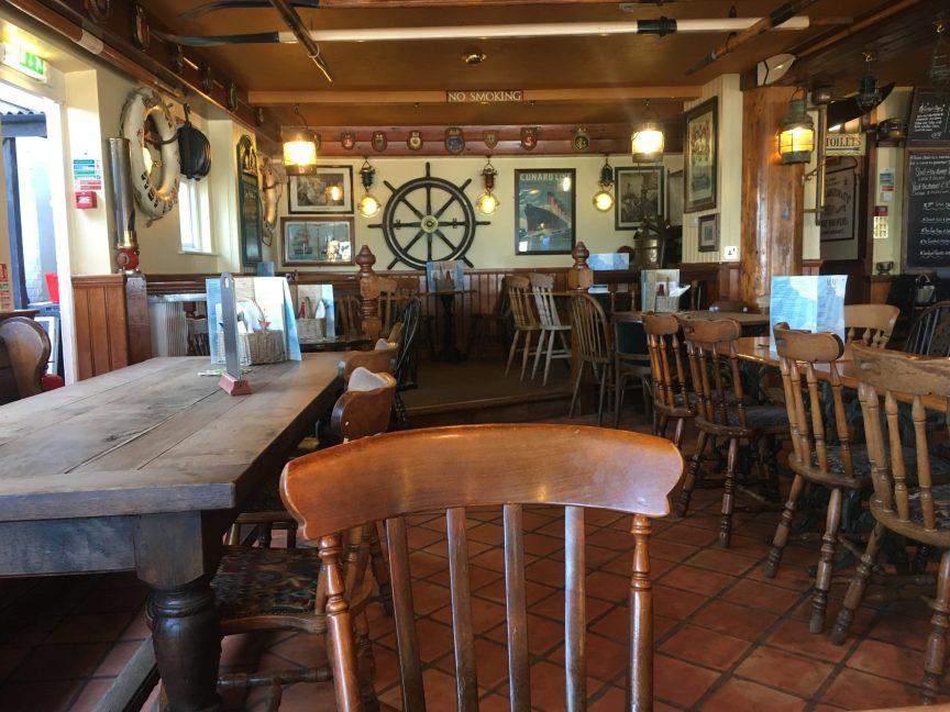 The Steamer Inn, Isle of Wight, Family Friendly Pub
