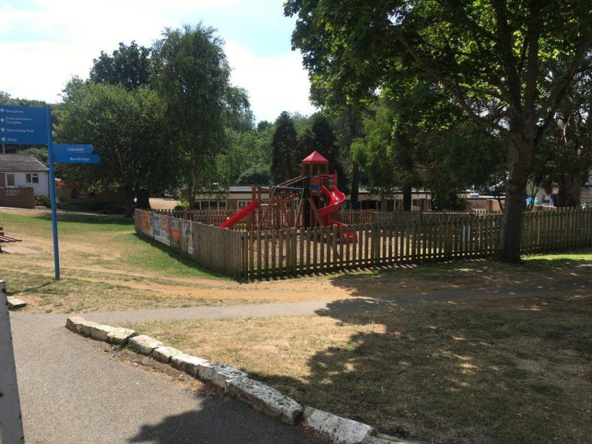 landguard holiday park play area, summer holidays