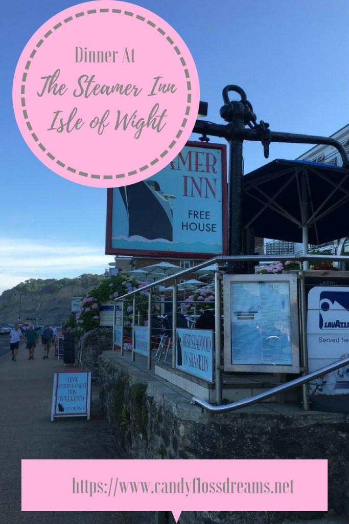 The Steamer Inn, Isle of Wight #visithampshire #visitisleofwight #uktravel #food #thesteamerinn #placestoeat #tastyfood #mealsout #pubmeal #familymeal