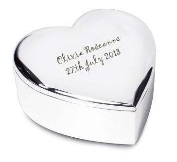 silver newborn gifts, newborn gifts that make me cringe