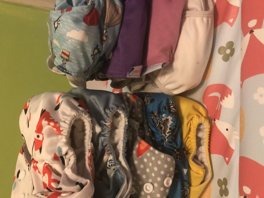 Cloth Nappy prints and colours