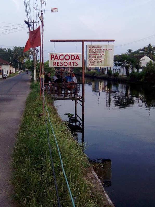 pagoda sign