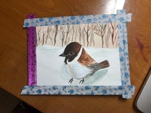little bird 75% done