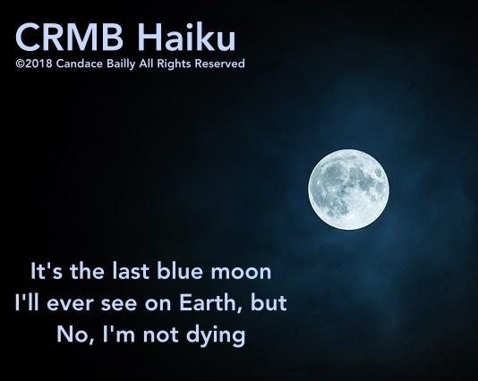 Blue Moon – Haiku