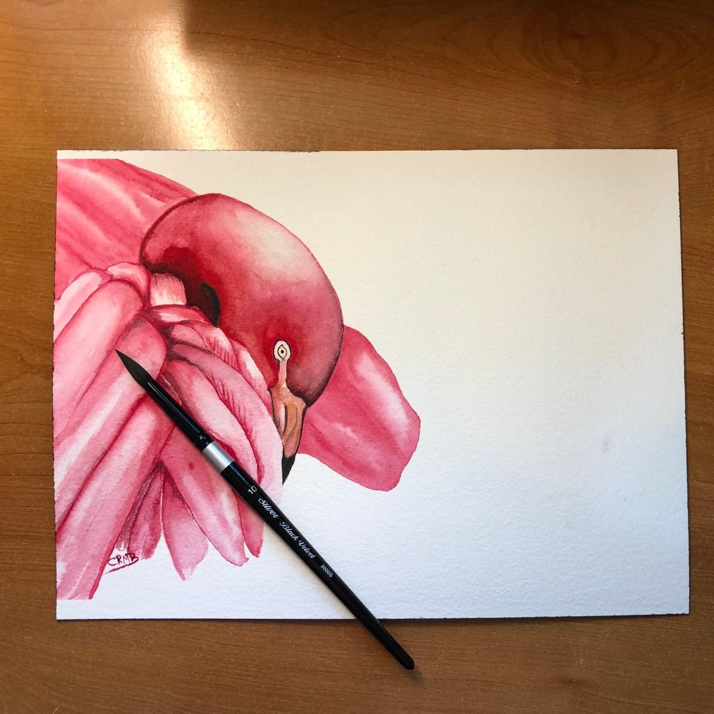 Watercolor – Flamingo