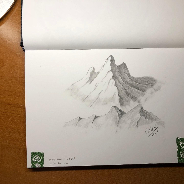 Sketch-Mountaintops