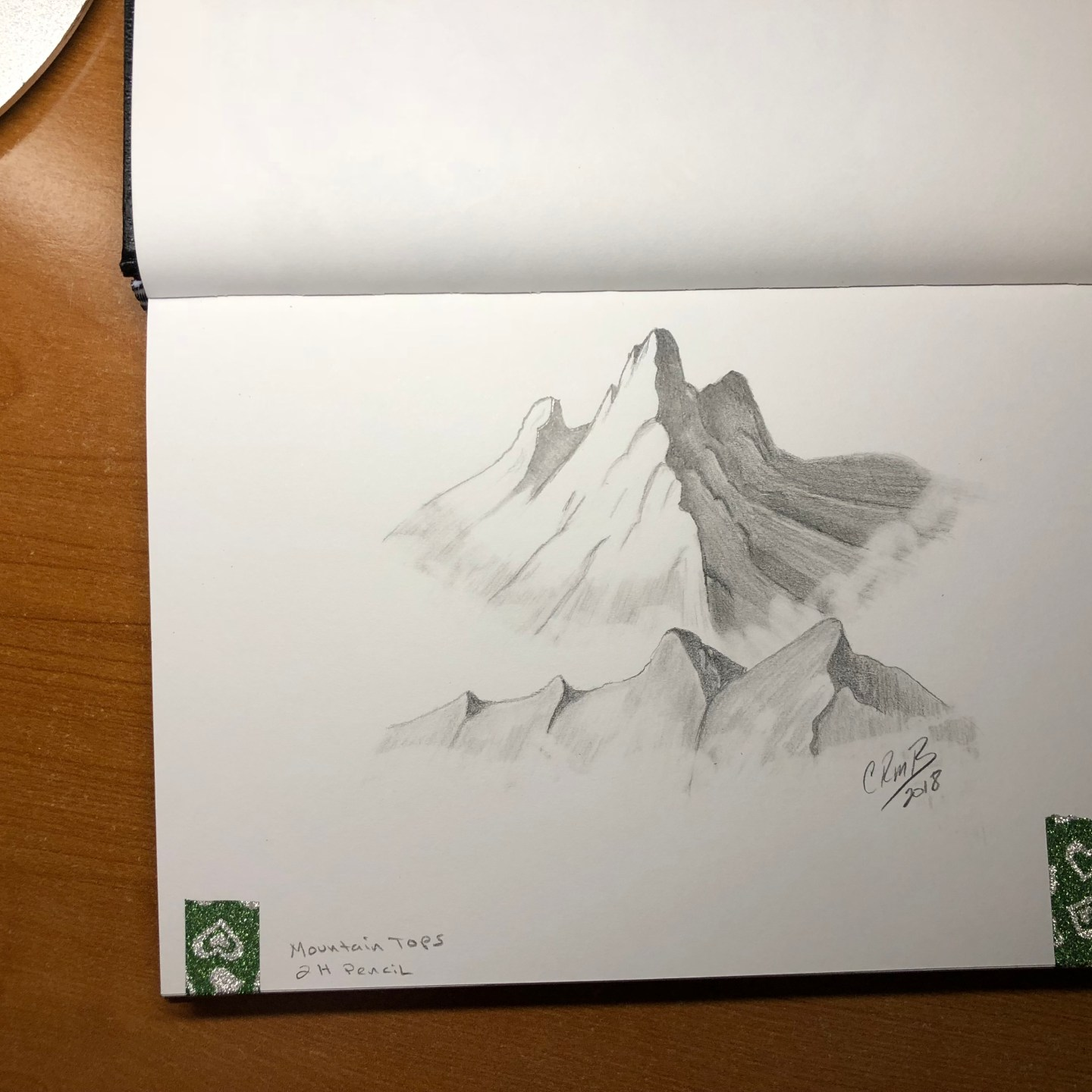 Sketch-Mountaintops