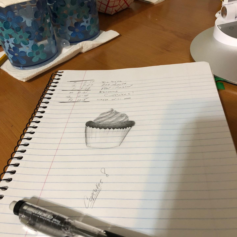 Sketch – Cupcake