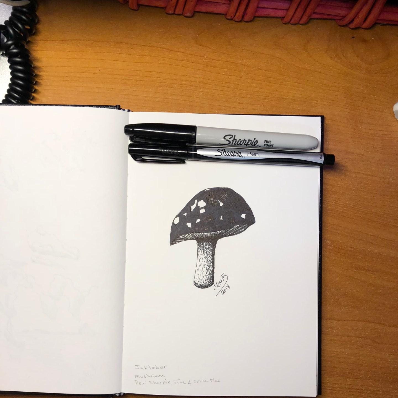 Sketch – Mushroom