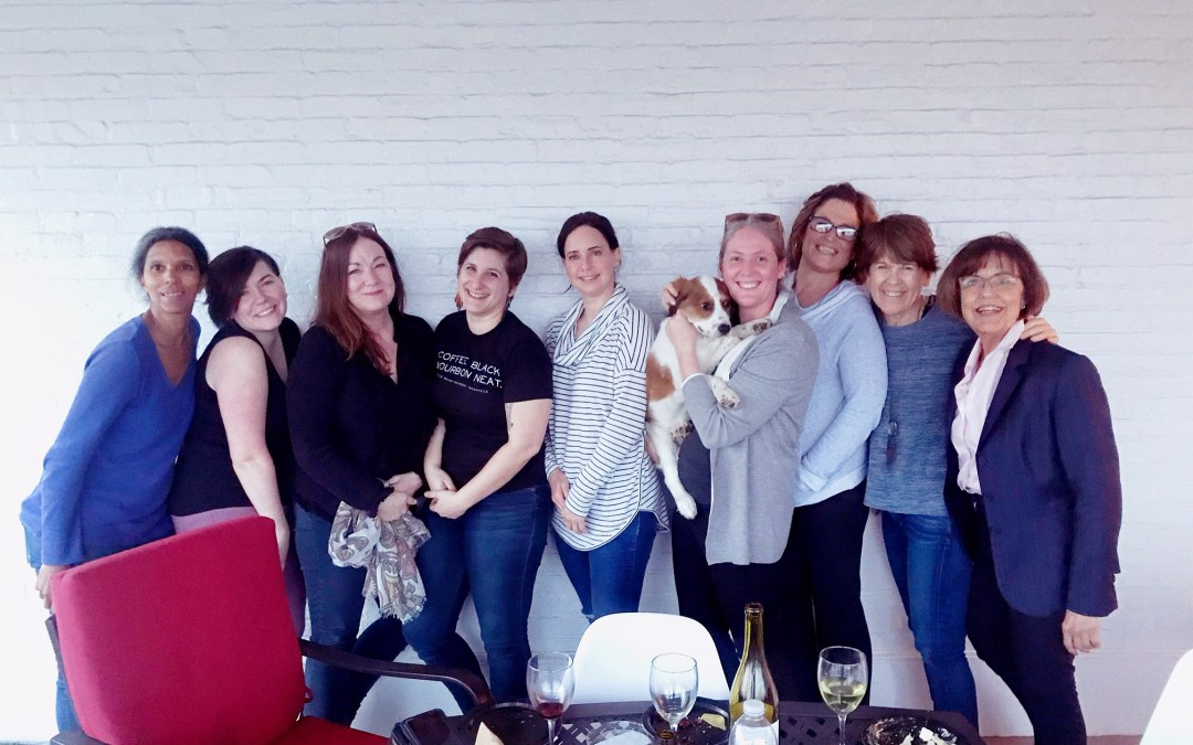Women of Coworking and childcare at The Candy Factory, Coworking in Lancaster.