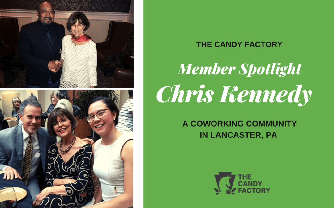 Member Spotlight:  Chris Kennedy – building a Kick-Ass 2nd half of life…