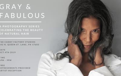 Gray & Fabulous – A photo series celebrating natural gray hair color