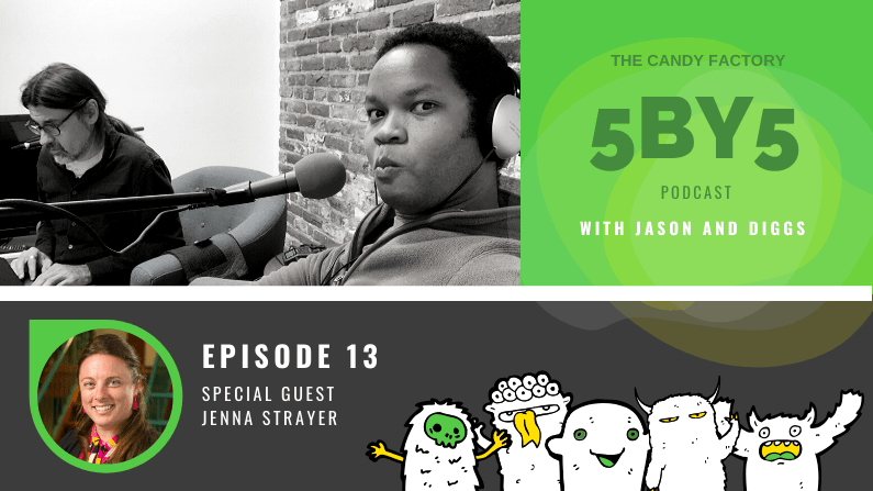 5BY5 Ep. 13 with Jenna Strayer