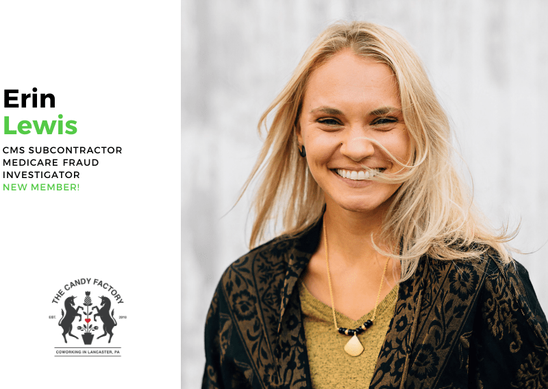 New Member Spotlight – Erin Lewis