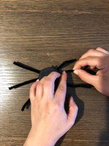 Araña de mazapan