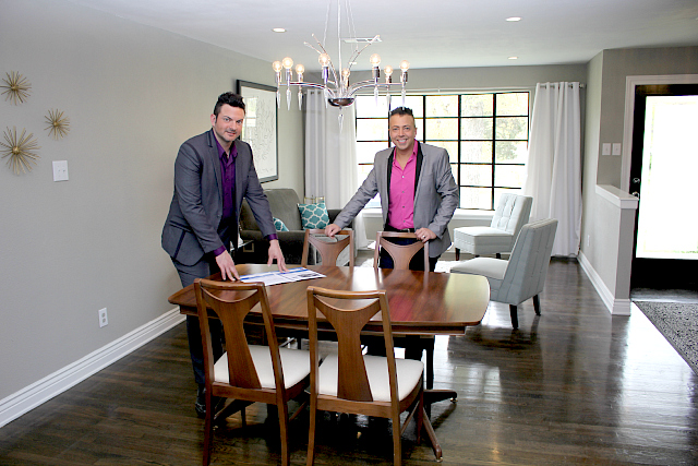 Raymond E. Graham and Casey Barton renovated an East Dallas house at 5823 Canterview Dr. that went under contract in three days. Photo: Casey Barton
