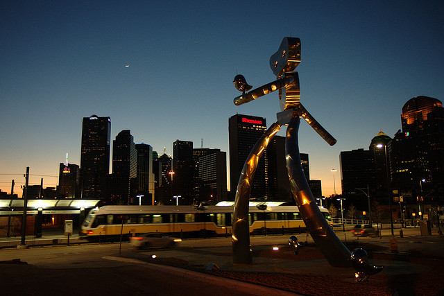 The Deep Ellum district in downtown Dallas is home to a vibrant arts and entertainment scene. Photo: Steve Rainwater via Creative Commons