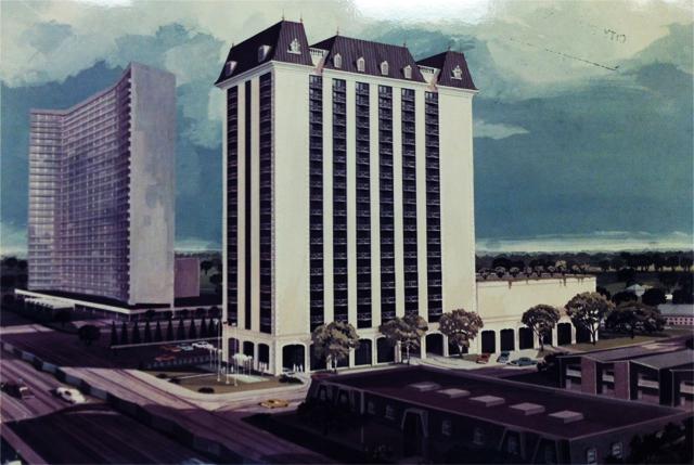 Original 1970s high-rise planned for neighboring Preston Place plot