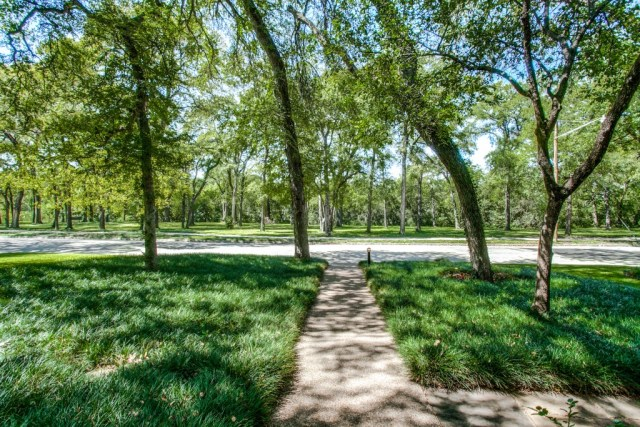 View of Overton Park from 3605 Overton Park Drive E