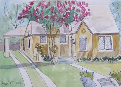 The Vickery Place Home Tour will include stops at real homes, not watercolors.