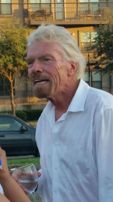 Richard Branson CU