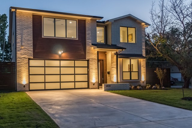 This contemporary home at 3830 Valley Ridge Road is a new build from The Avant Group.