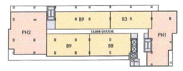 Penthouse Level Floor Plate