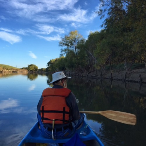 Canoeing the Trinity River with Dad, Fathers Day 2016. Taken by Amanda Popken