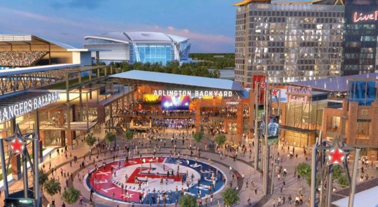A massive expansion is planned for the Arlington-based Texas Live! venue, we identify design trends to ditch in 2020, and Zaida Basora is tapped as new executive director of AIA Dallas and Architecture and Design Foundation, all in this week's roundup of real estate news.