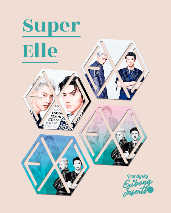 EXO Eribong Inserts: EXO-SC Super Elle Collection