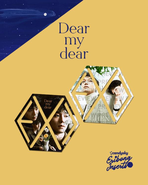EXO Eribong Inserts - CHEN Dear My Dear