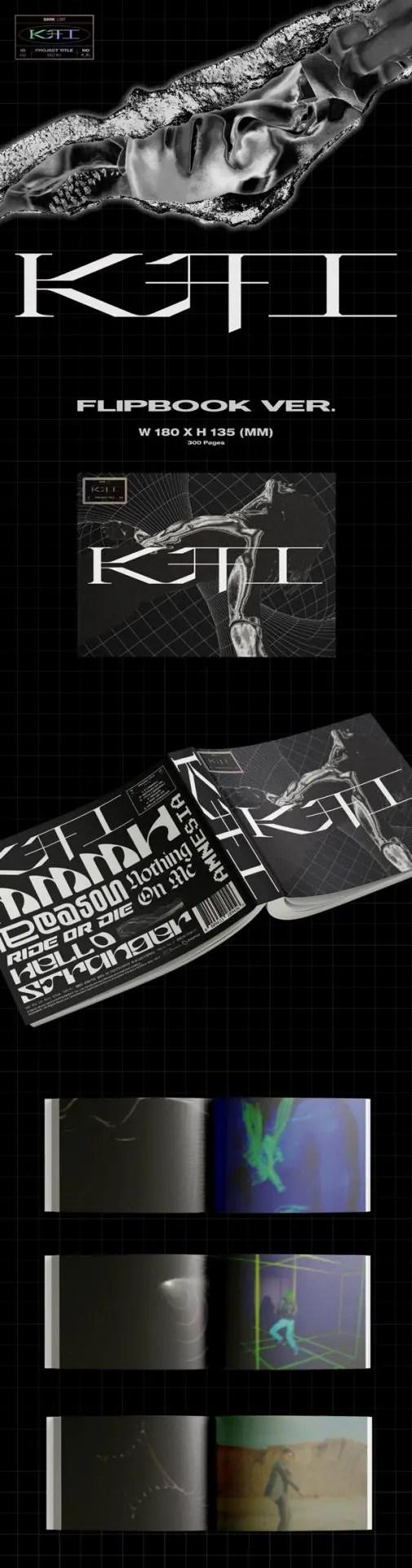 KAI 카이 The 1st Mini Album [KAI (开)] - Flip Book Version - Details #1
