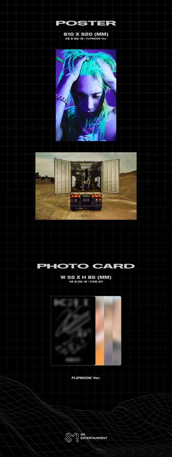 KAI 카이 The 1st Mini Album [KAI (开)] - Flip Book Version - Details #3