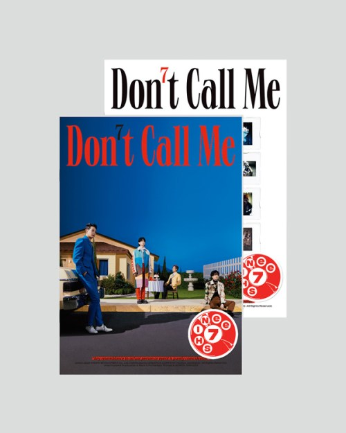 "SHINee 7th Album ""Don't Call Me"" Photobook Ver. (Fake Reality/Reality)"
