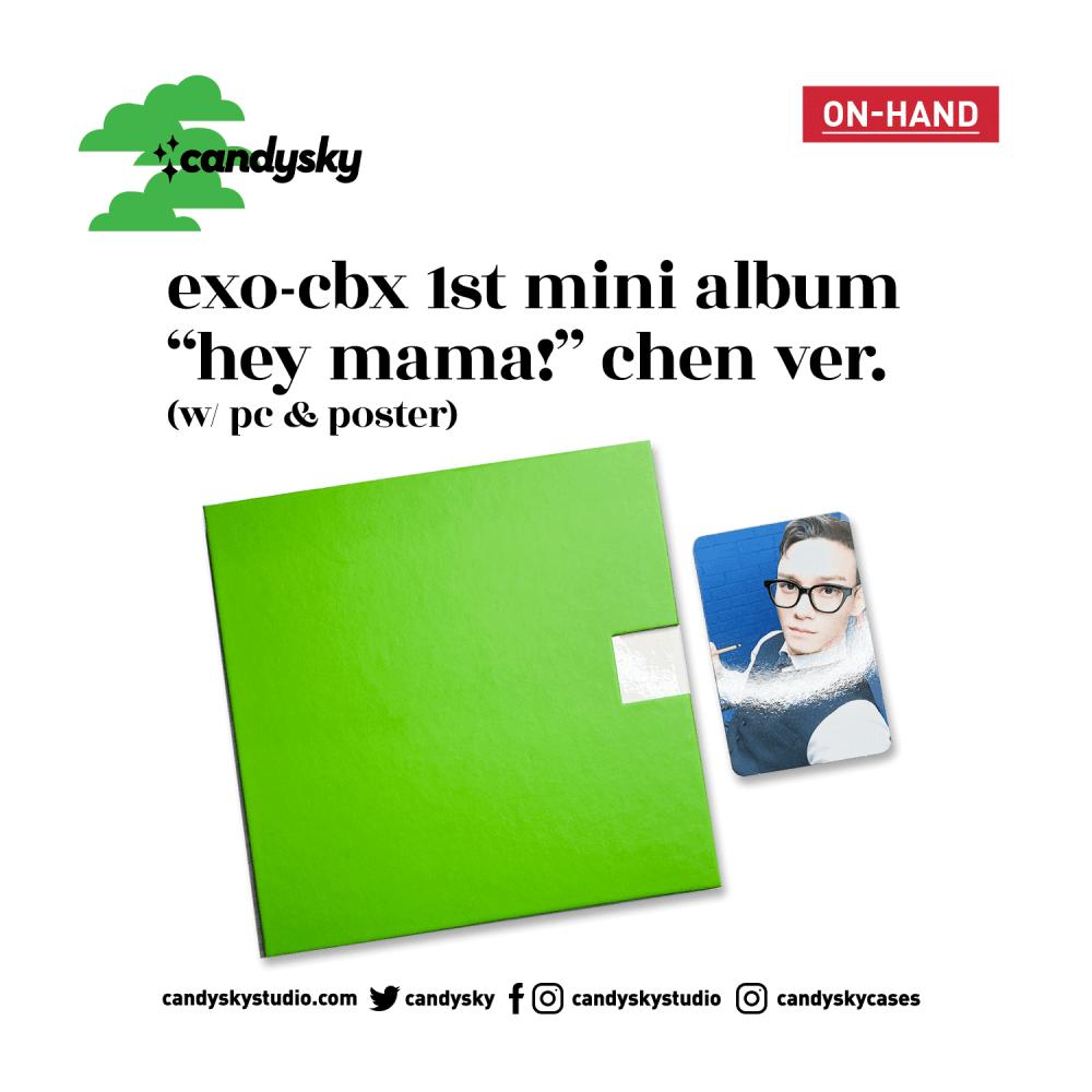 EXO-CBX 1st Mini Album Hey Mama Chen Ver.