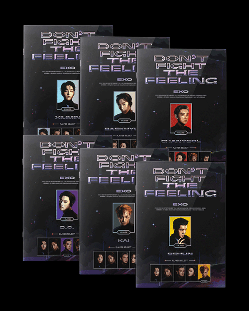 EXO Special Album Don't Fight The Feeling - Expansion Version