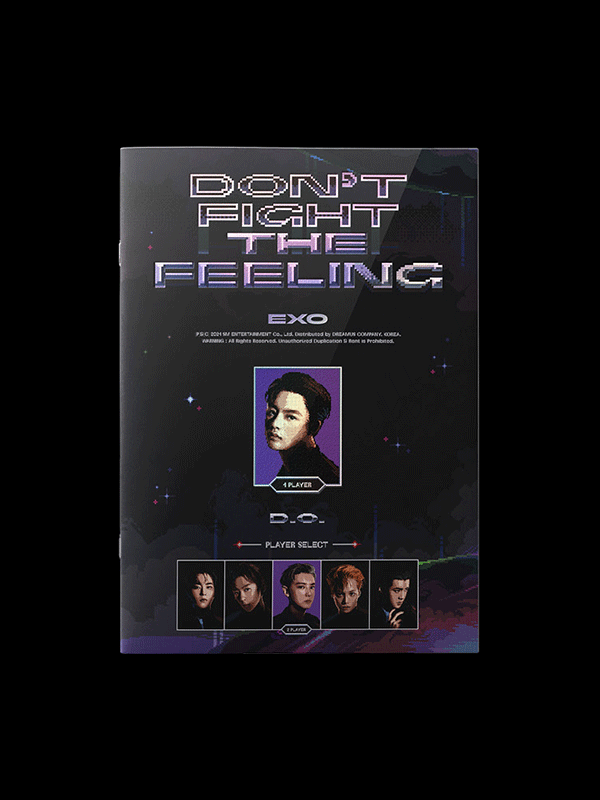 EXO Special Album Don't Fight The Feeling - Expansion Version D.O.