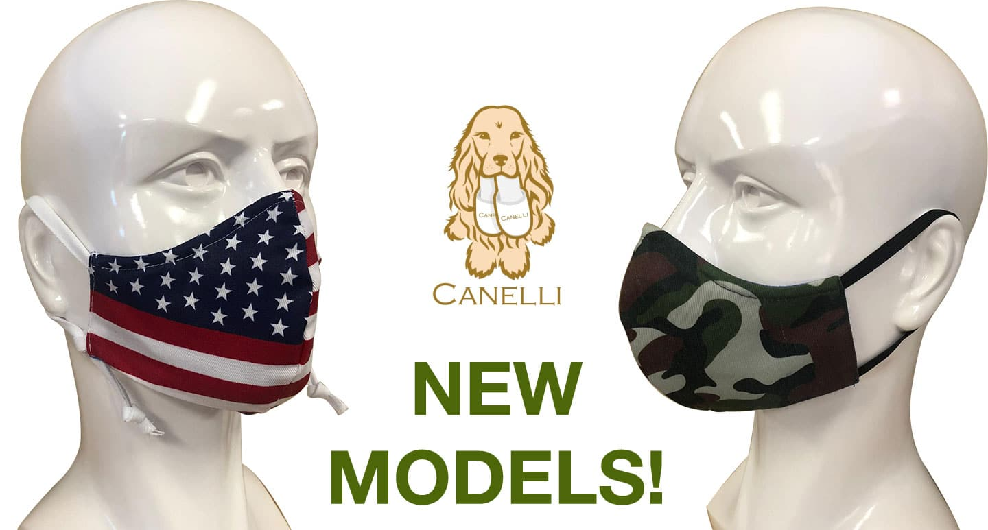 New Model Face masks Canelli Store basics