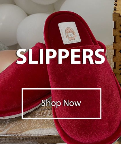 SLIPPERS CANELLI STORE
