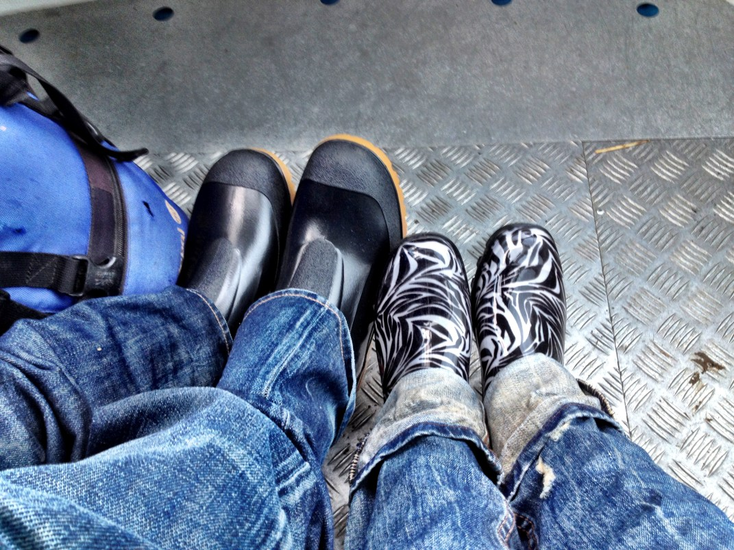 Regensicheres Schuhwerk