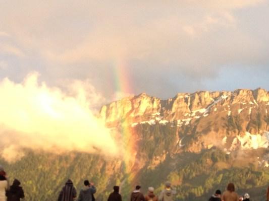 Der Regenbogen macht der Rainbow Party alle Ehre