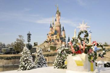 A magia do Natal na Disneyland Paris