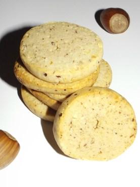 Biscuits à la crème de marron et noisette ( Bredele )